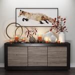 Fox Candles Sideboard 266