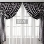 462. Curtain 3dmodel  pro