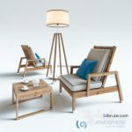 ATMOSPHERA CREATIVE LAB Table & chair 431