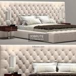 Longhi Napoleon bed W 810 Giuseppe Vigano