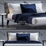 adam Cattelan Italia bed