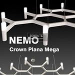 Crown Plana Mega Ceiling light 1136