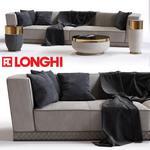 Longhi Welles Double Depth  sofa