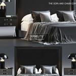 Bed 3dsmax  3dbrute  452