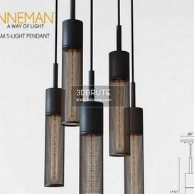Gotham 5-Light Pendant Ceiling light