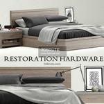 Restoration hardware  Bed 3dmodel