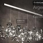 TIRZANI Argent Silver Cloud Ceiling light 866