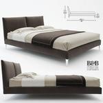 b&b italia Bed  185