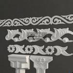 212 Decorative plaster  3dmodel