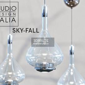 SKY-FALL corona Ceiling light