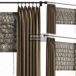 486. Curtain 3dmodel  pro