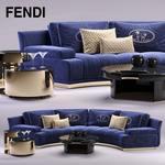 Fendi Sofa 3dmodel