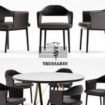 492. Trussadi Table and chair