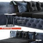 Mood Leanardo Bed 3dmodel