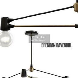 Brendan Ravenhill Cord Pendant Ceiling light