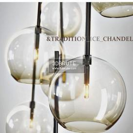 &TRADITION ICE CHANDELIER-1 Ceiling light