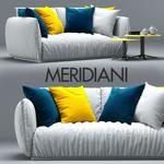 Meridiani Sofa 3dmodel