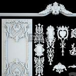 60 Decorative plaster  3dmodel
