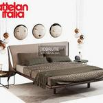 Cattelan italia_nelson bed set