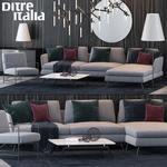 Ditre italia Sofa 3dmodel