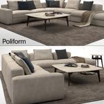 Poliform Sofa 3dmodel