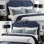 Sanibel Queen Upholstered Bed  527