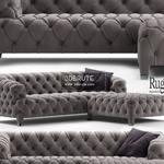 rugiano cloud Sofa 3dmodel