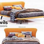 Twils orange Bed  536