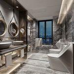 Bathroom A002Modern style