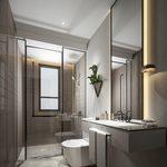 Bathroom A009Modern style 3d66 2018