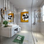Bathroom B001Postmodern style 3d66 2018