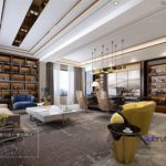 3d66 Office room B003Postmodern style   2018