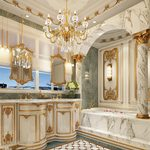 Bathroom D004European style 3d66 2018
