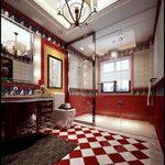 Bathroom G001Mediterranean style 3d66 2018