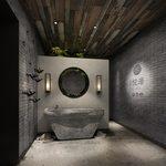 Bathroom H002Industrial style 3d66 2018