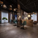 Showroom H016Industrial style 3d66 2018
