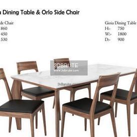Gioia Dining  & Orlo Side