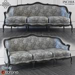 Art 12065 D3 corona sofa 637