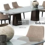 Molteni & C mayfair set Table & chair 551