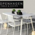 copenhagen Table & chair 556