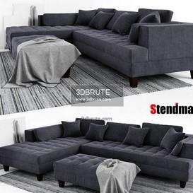 STENDMAR  Set S168LDG sofa