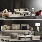Minotti Grand Jacques  set sofa 654