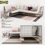 Divan ikea ekebol sofa 658
