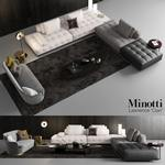 Minotti Lawrence Clan Seating 3 sofa 660