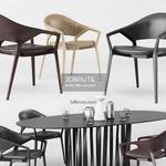 Ico Cassina Table & chair 565