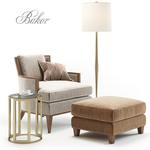 baker california sofa 682