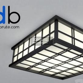 INL 3008C 5 BLACK COFFEE Ceiling light