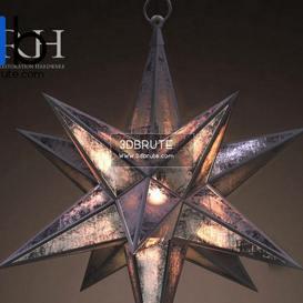 MORAVIAN STAR PENDANT Ceiling light