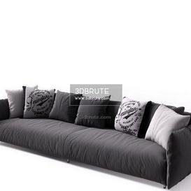Meridiani Scott Twin sofa