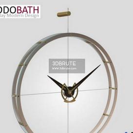 DOBLE O Steel Wall Clock 2014